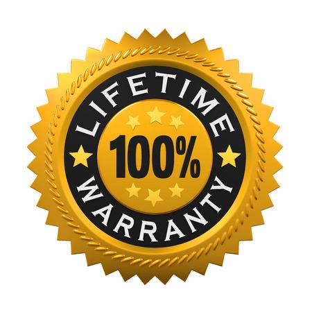 warranty: Lifetime Warranty Sign