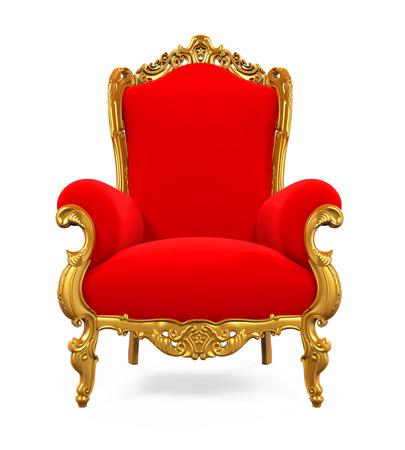 왕이 왕좌 의자 스톡 콘텐츠