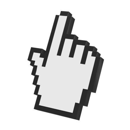 cursor: Hand Cursor Isolated