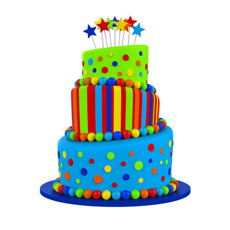 tier: Tiered Cakes Isolated