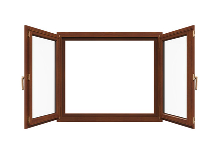 ventanas abiertas: Marco de ventana Aislado