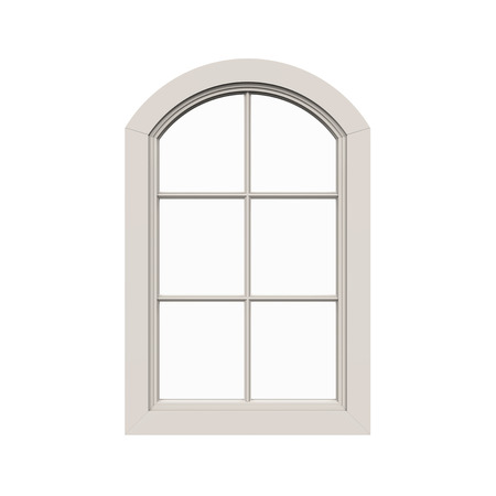 wood frame: Window Frame Isolated