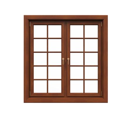 finestra: Telaio di finestra Isolato