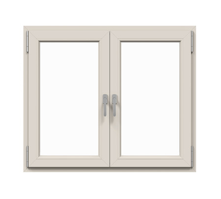 is closed: Window Frame Isolated