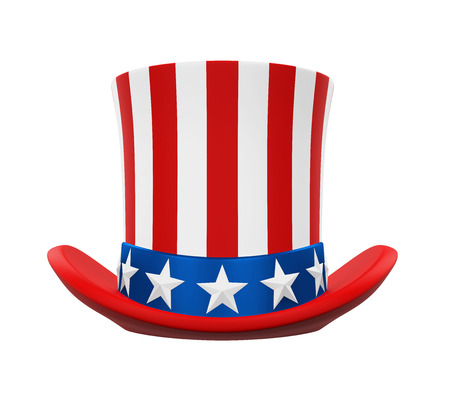 sam: Uncle Sam Hat Stock Photo