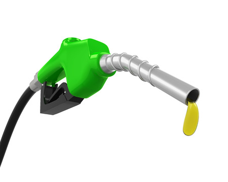 nozzle: Gas Pump Nozzle Stock Photo