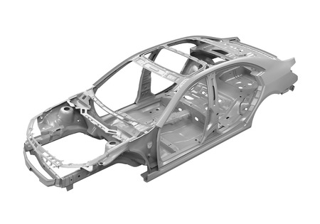 Unibody Chassis voiture Banque d'images - 65011853