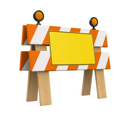 barrier: Under Construction Barrier