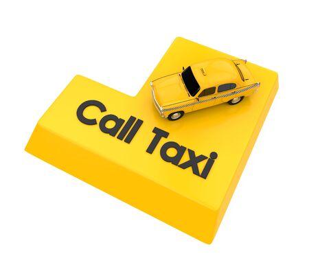 Call Taxi Enter Button