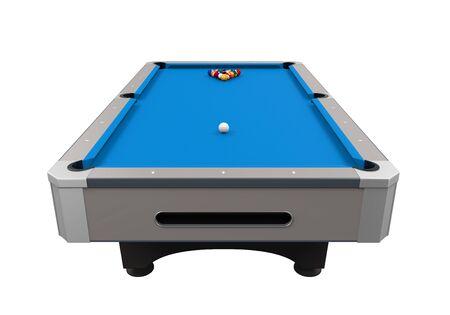 billiard: Blue Billiard Table