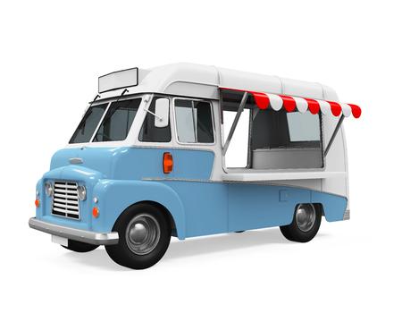 Camión de comida Foto de archivo - 67258069