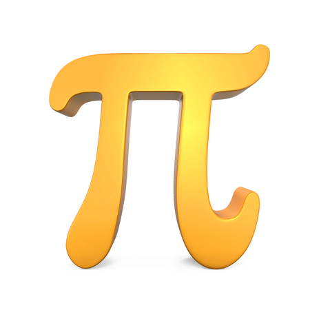 diameter: Golden Pi Symbol
