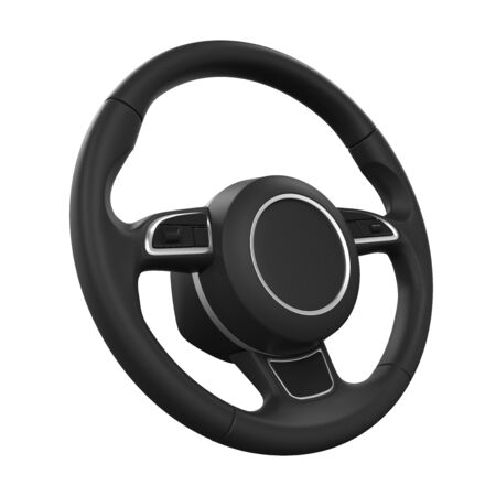 steering: Steering Wheel Isolated