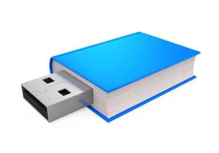usb disk: Book with USB Plug