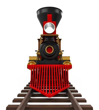 railway transport: Old Locomotive Train