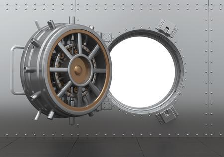 solid: Open Bank Vault Door