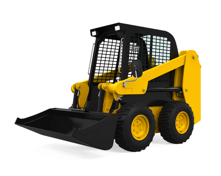 Skid-steer Loader Фото со стока - 69899460