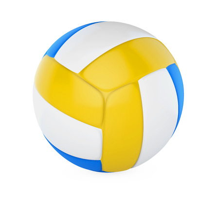 pelota de voley: Volley Ball Isolated