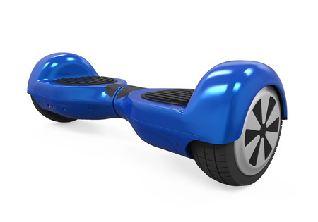 nomination: Blue Gyroscooter Isolated