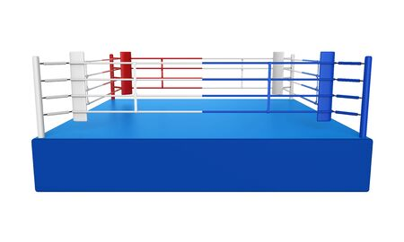 isolated: Boxing Ring Isolated
