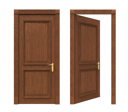 open doors: Closed and Open Doors