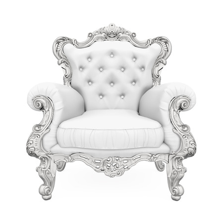 classical: Throne Chair Isolated
