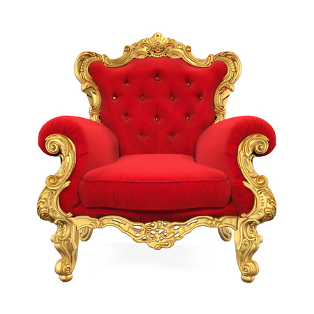 Throne Chair Isolated Imagens - 71072717