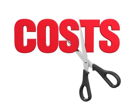 lowering: Costs Cuts Concept
