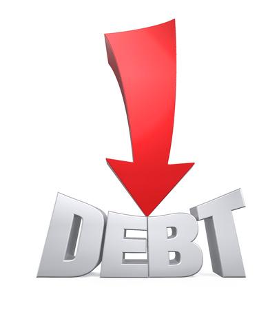 Debt Reduction Concept