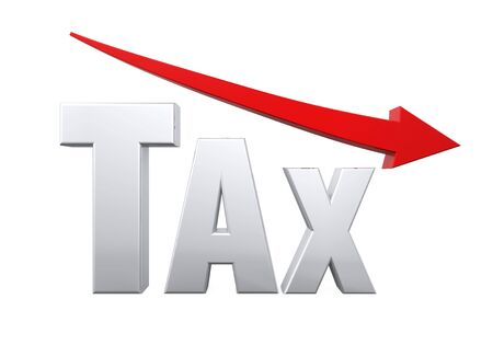 Tax Reduction Concept