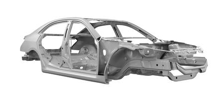 unitary: Unibody Car Chassis