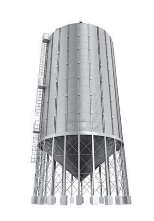 silo: Bulk Feed Silo