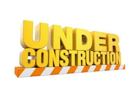 site backgrounds: Under Construction Sign