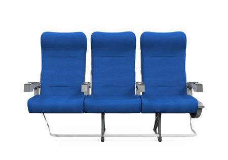 Vliegtuigstoelen Isolated