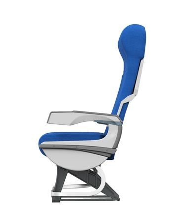 armrest: Airplane Seats Isolated