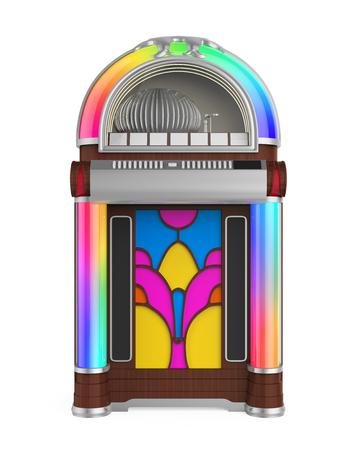 Vintage Jukebox Radio 免版税图像
