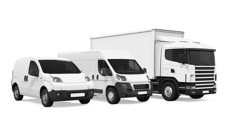 Fleet of Delivery Vehicles