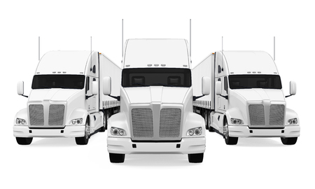 Trucks Fleet Isolated