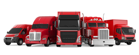 Fleet of Freight Transportation