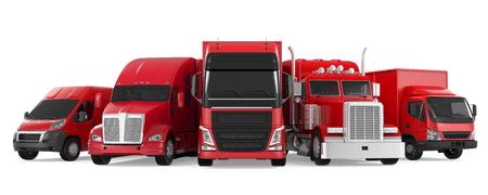 Vloot van Vrachtvervoer