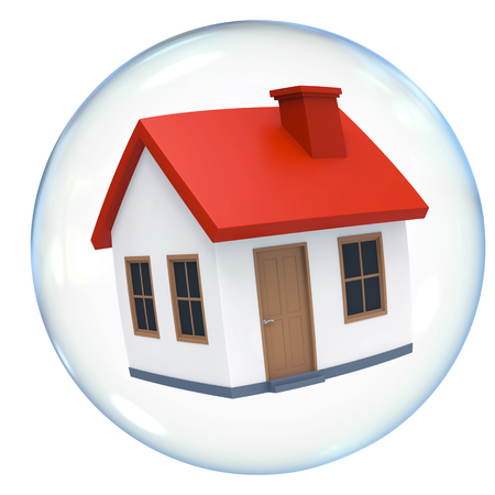 Housing Bubble Isolated Banco de Imagens