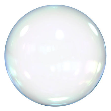 isolated: Soap Bubble Isolated