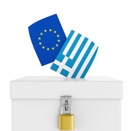 Grexit Ballot Box