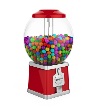 gumball: Candy Gumball Machine Isolated