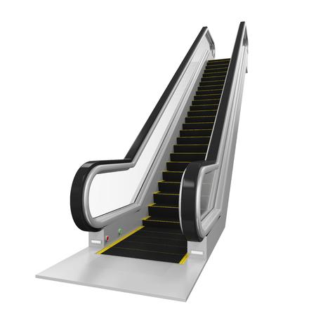 Escalator Isolated