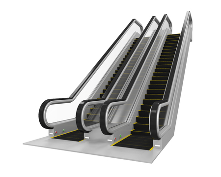 Escalator Isolated