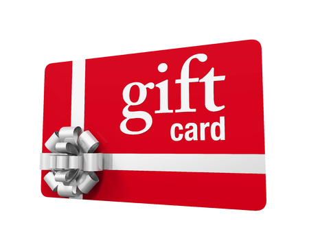 Gift Card Isolated