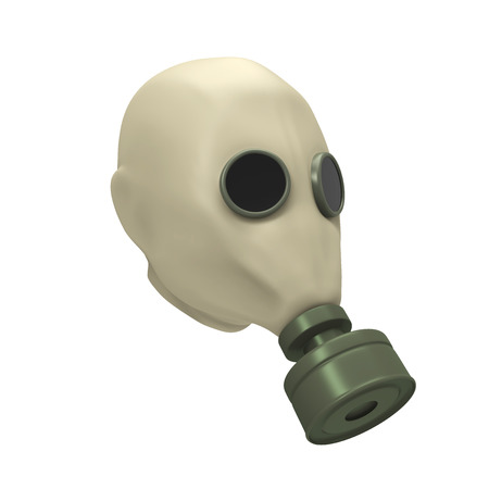 Gas Mask Isolated