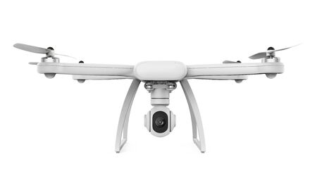 Drone with Camera Isolated