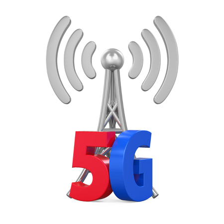 5g: 5G Network Sign Isolated